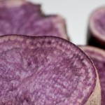 Patate viola: i nuovi salutari coloranti alimentari naturali
