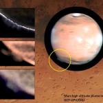 Eccezionali pennacchi su Marte sconcertano gli scienziati