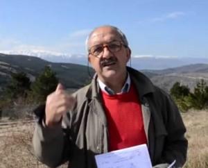 Antonio Perrotti sul Comprensorio Sciistico nel Parco del Gran Sasso