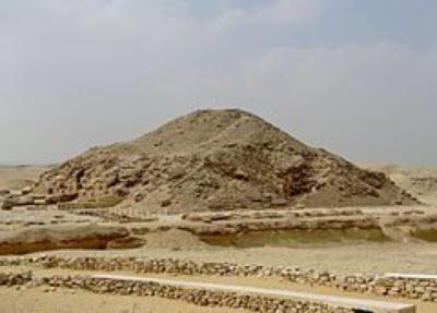Rovine della piramide di Unis (o Unas, in greco) (Fonte: Wikipedia)