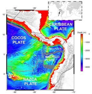 Nuova placca si aggiunge alla storia della tettonica del Pacifico centro-orientale