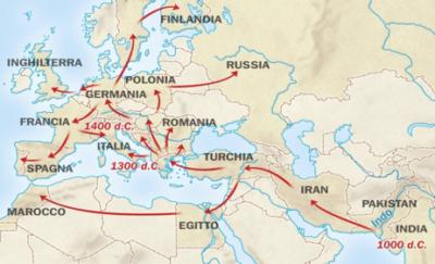 L'espansione dei Rom avvenuta con l'adeguamento alle economie locali