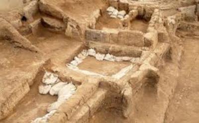 Scavi archeologici del sito di Catalhoyuk (Wikipedia)