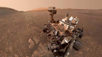 Selfie del rover Curiosity scattato il 12 maggio 2019 (crediti: NASA/JPL-Caltech/MSSS)