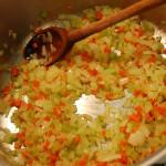 Classico soffritto a base di cipolla o aglio è il segreto di un cuore sano