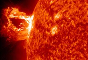 Flare solari sul Sole. Le variazioni di calore probabilmente non sono poi così influenti sui cambiamenti climatici terrestri. (crediti: NASA/ SDO / AIA)
