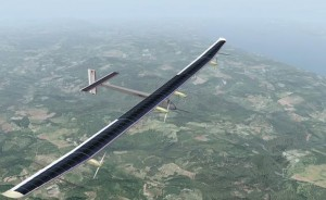 Aereo ad energia solare tenta la traversata degli Stati Uniti
