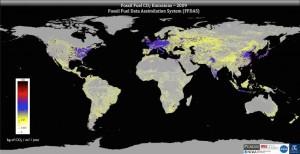 Mappe globali sulle emissioni di anidride carbonica