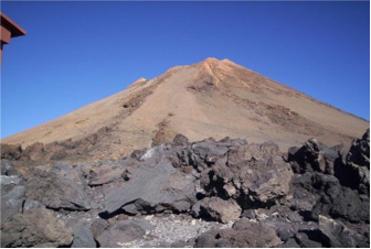 Cima del vulcano Teide (crediti: NOC – National Oceanography Center)
