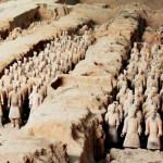 Cina: esercito di terracotta a rischio per colpa dell'inquinamento