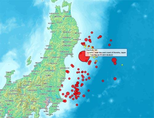 Terremoto in Giappone dell'11 marzo 2011
