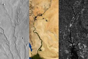 Il paesaggio di Titano è più marziano che terrestre