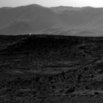 Curiosity fotografa una luce su Marte