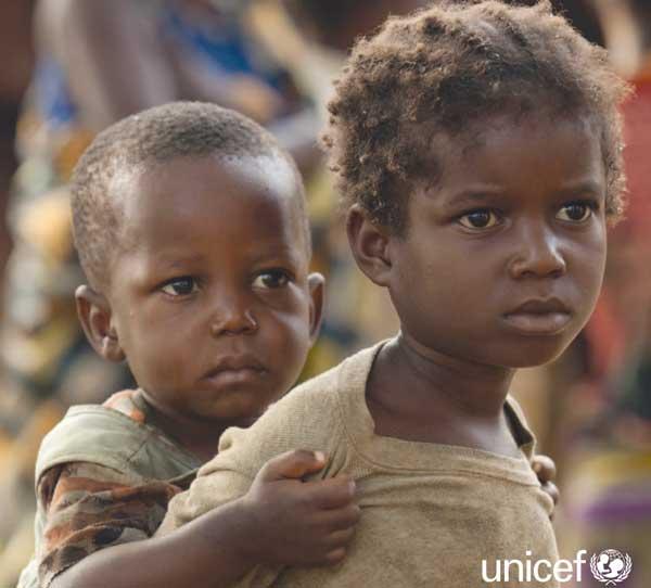 Unicef, bambini