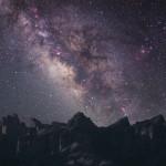 Meteria oscura nella Via Lattea fa ruotare stelle e gas