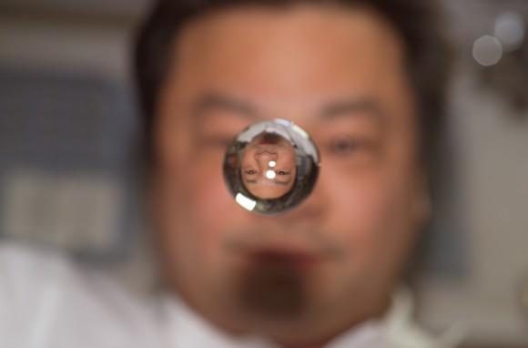 urina diventa acqua nello spazio