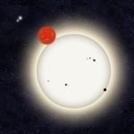 Astrofili scoprono il primo pianeta illuminato da quattro stelle